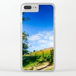 Roseberry Pass Clear iPhone Case