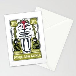 1966 Papua New Guinea Folklore Meavea Kivovia Stamp Stationery Cards