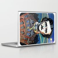 edgar allan poe Laptop & iPad Skins featuring Edgar Allan Poe by Emma Ridgway