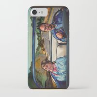 law iPhone & iPod Cases featuring The Law by Brittany W-Smith