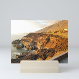 Volcanic Sands and Waves Mini Art Print