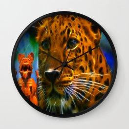 Shamanic Invocation Wall Clock
