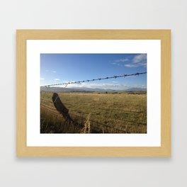 Wide Open #1 Framed Art Print