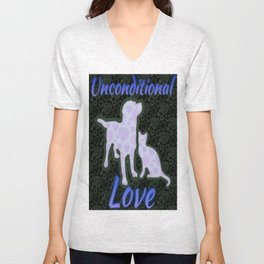 Unconditional Love Unisex V-Neck