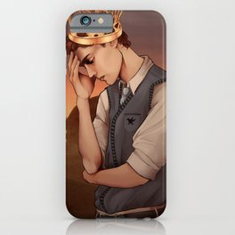 Heavy Lies the Crown iPhone Case