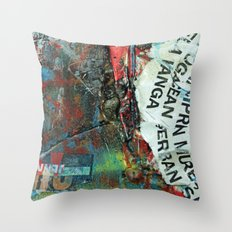 Layered 2 Throw Pillow