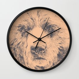 Have a bear Wall Clock