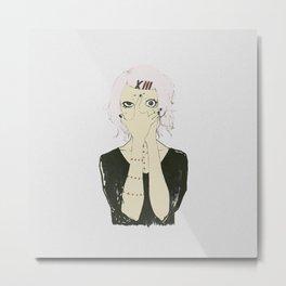 Juuzou Suzuya v3 Metal Print