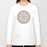 zentangle Long Sleeve T-shirts featuring zentangle by Alapapaju