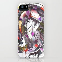 Abstract Explorations 7 iPhone Case