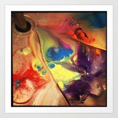 beautiful mess Art Print