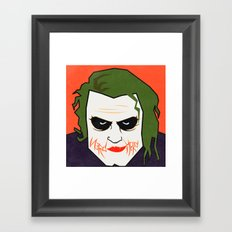 The Joke is on N3rd Herd Framed Art Print