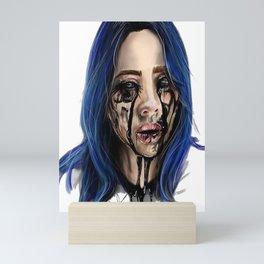 Bilie elish ocean eyes Mini Art Print