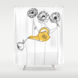 Love And Mercy Shower Curtain