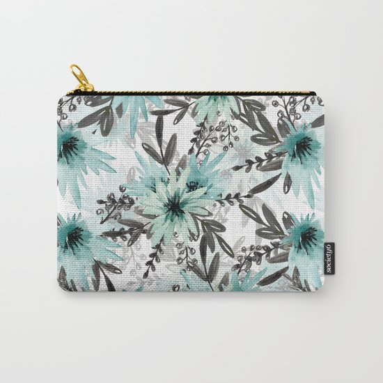 Blue asters Carry-All Pouch