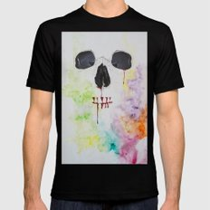 A beautiful array of something gone wrong Mens Fitted Tee Black MEDIUM