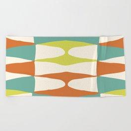 Zaha Lime Beach Towel