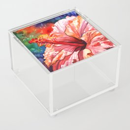 Tropical Hibiscus 2 Acrylic Box