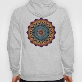 Mandala Sacred Geometry Prana Art Yoga Mantra Om Good Vibes Hoody