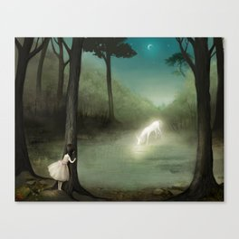 No One Would Ever Believe Her Canvas Print
