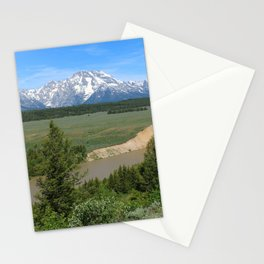 Snake River And Grand Teton Range Stationery Cards