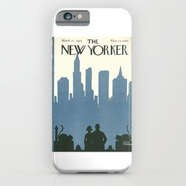 Vintage New Yorker Cover - Circa 1925 iPhone Case
