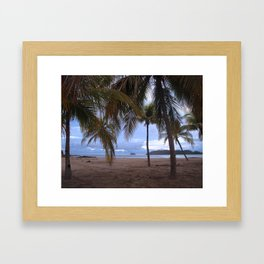 Tranquil Beach Framed Art Print