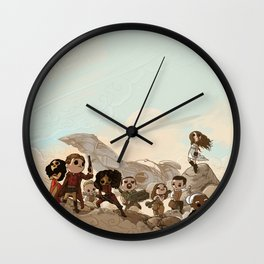 Tribute Wall Clock