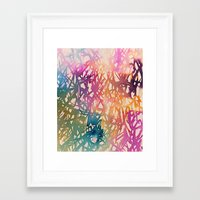 sparkle Framed Art Prints featuring Sparkle by zeze