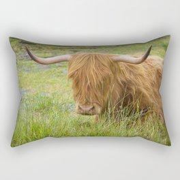 Scottish highland cow Rectangular Pillow