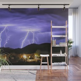 Incoming Monsoon Storm Action 2019 Wall Mural