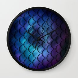 blurry motion Wall Clock