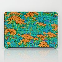 weed iPad Cases featuring Weed Patch by Anne Millbrooke