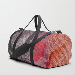 Poppy Abstract Duffle Bag