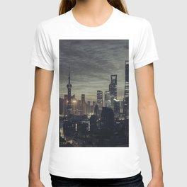 city at the night T-shirt