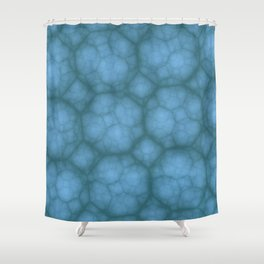 Octagons in MWY 01 Shower Curtain