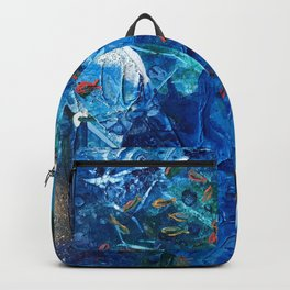 Rainbow Fish Swim, Environmental Tiny World Collection Backpack