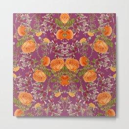 Vibrant Botanic Metal Print