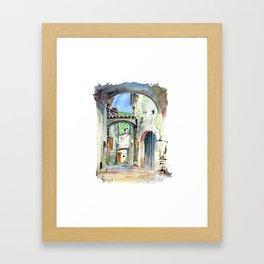 Viol des Bernards - Chatillon en Diois Framed Art Print