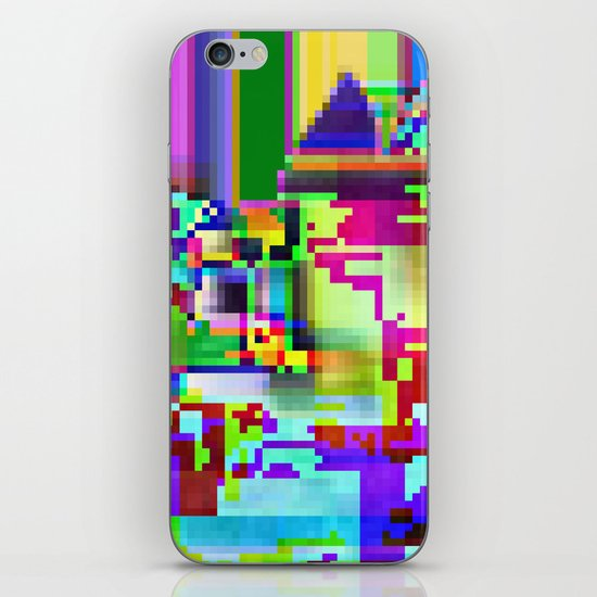 port13x10a iPhone & iPod Skin