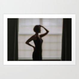 A Silhouette Art Print