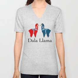 Dala Llama v2 Unisex V-Neck