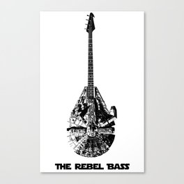 Rebel Bass Canvas Print