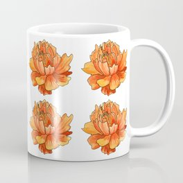 Siberian flower pattern Coffee Mug
