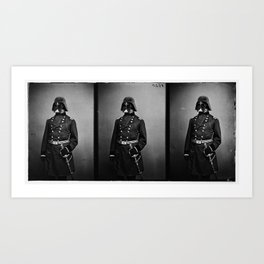 Wartime Icon:1860-1890. Untitled 1 Art Print