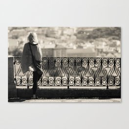 City Girl Canvas Print