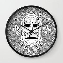 Mamuthone & Sakura Wall Clock