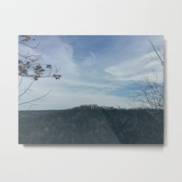 The view from a mountain Metal Print