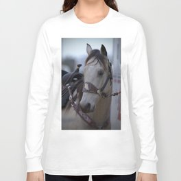 Horse in bridle Long Sleeve T-shirt