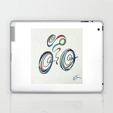 Bicycle - Zoomin' Through Laptop & iPad Skin